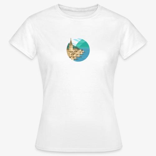 Hallstatt City - Frauen T-Shirt