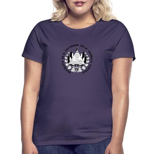 escudo de El Salvador - Camiseta mujer