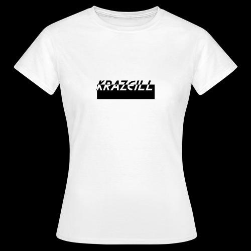 KrazeiLL Box Logo Black and White - Women's T-Shirt