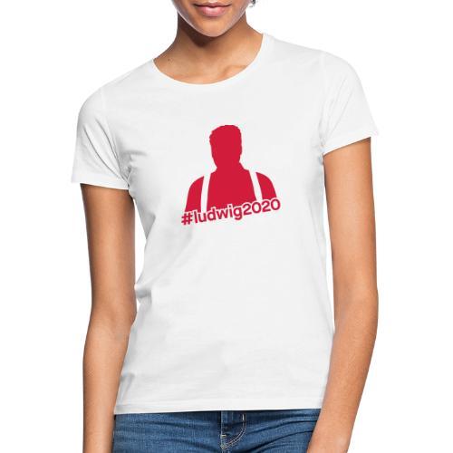 Ludwig Silhouette - Frauen T-Shirt