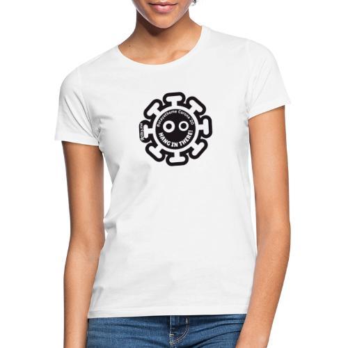 Corona Virus #stayathome nero - Maglietta da donna