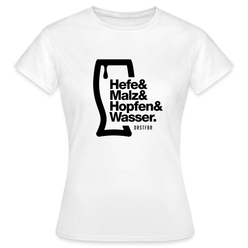Reinheitsgebot - Frauen T-Shirt