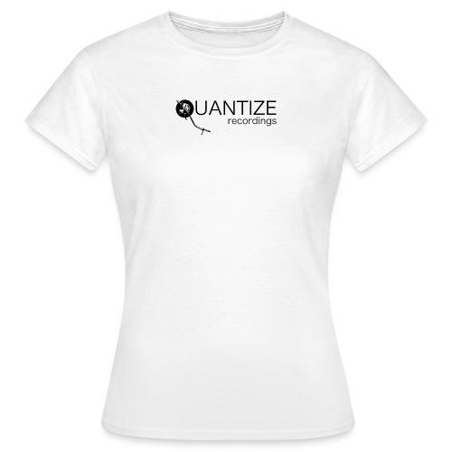 Quantize Black Logo - Women's T-Shirt