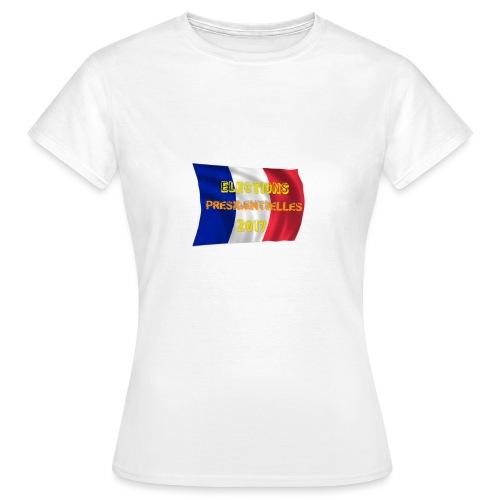 ELECTIONS 2017 - T-shirt Femme