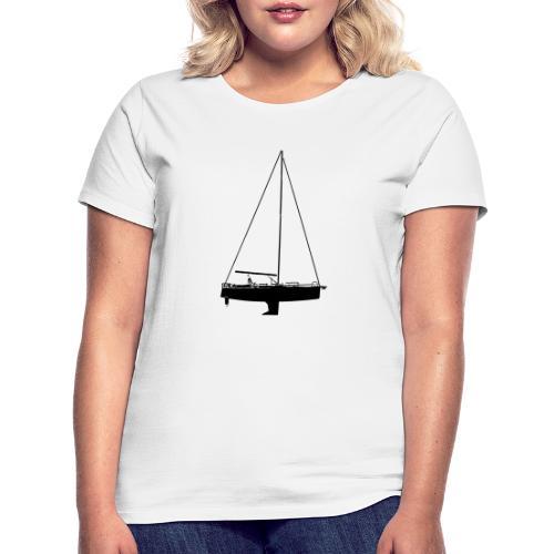 smooth ride - T-skjorte for kvinner