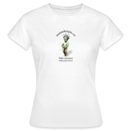 LiBERTY ♀♂   mannekenpis - T-shirt Femme
