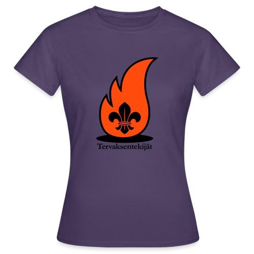 Terte lieskalogo mustaora - Naisten t-paita