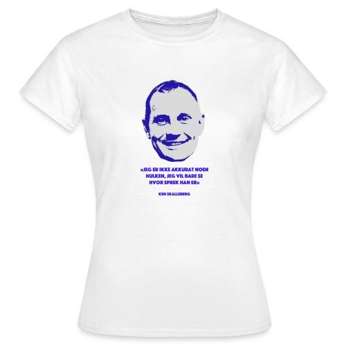Skalleberg - T-skjorte for kvinner