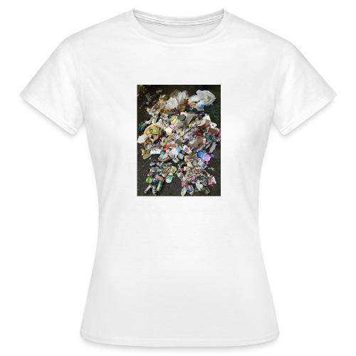 skraldklubben merch - Dame-T-shirt