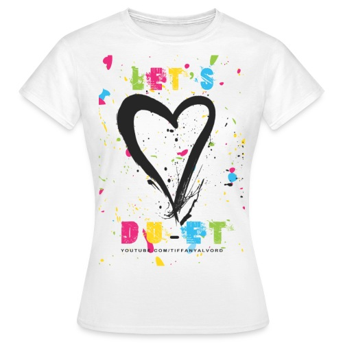 lets duet - Women's T-Shirt