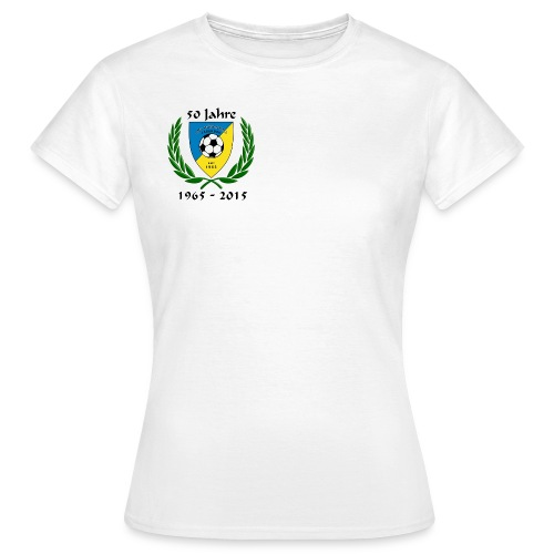 50 Jahr Logo jpg - Frauen T-Shirt