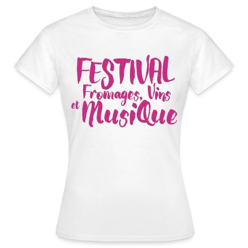 Festival FVM - T-shirt Femme