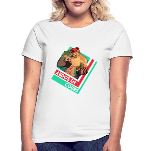 Abdos en cours - T-shirt Femme