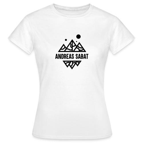 sabat logo black - Dame-T-shirt