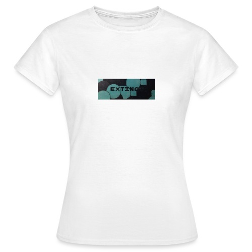 Extinct box logo - Women's T-Shirt