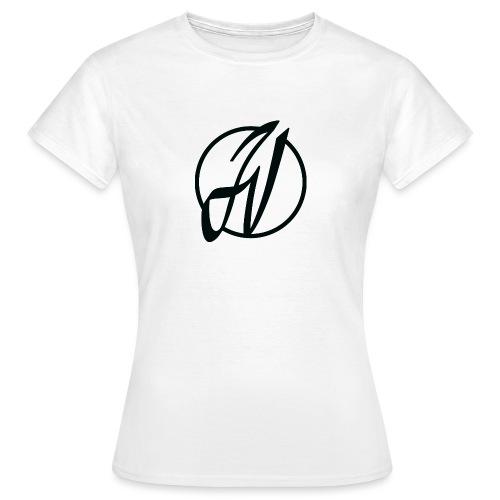 JV Guitars - logo noir - T-shirt Femme
