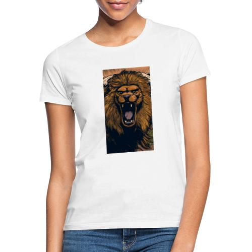 Lion grin - Frauen T-Shirt