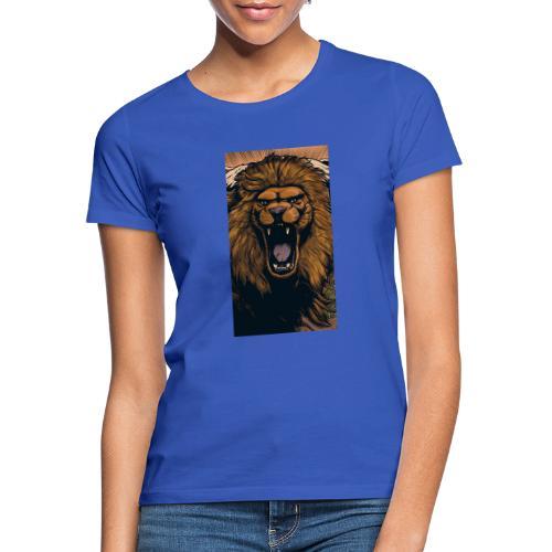 Lion grin - Frauen T-Shirt