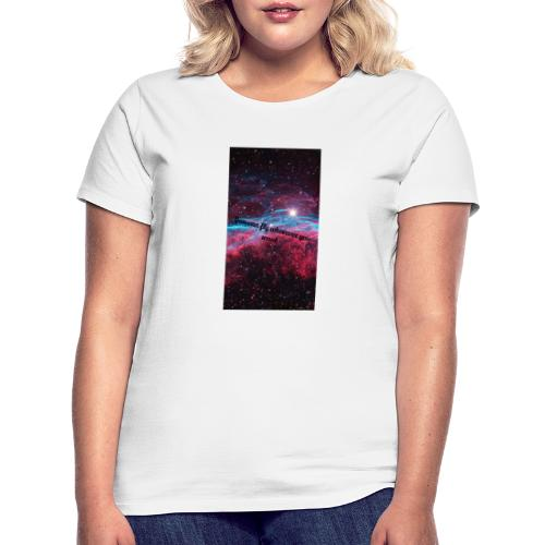 Space- You can Fly - Frauen T-Shirt
