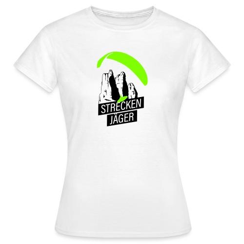 Streckenjäger Gleitschirm XC Paragliding - Frauen T-Shirt