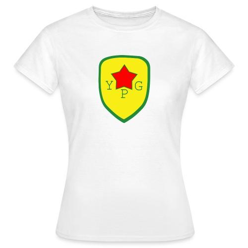 Unisex Red YPG Support Hoodie - Naisten t-paita