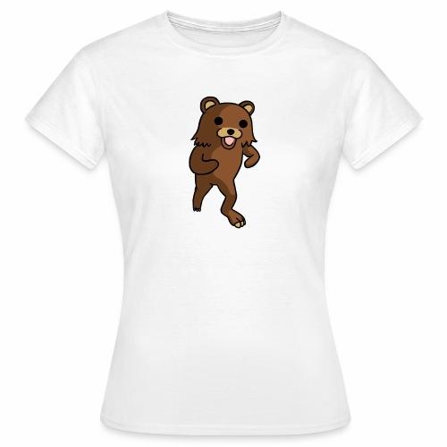 Tanssiva nalle - Naisten t-paita