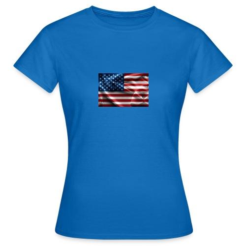 amerikaanse vlag - Vrouwen T-shirt