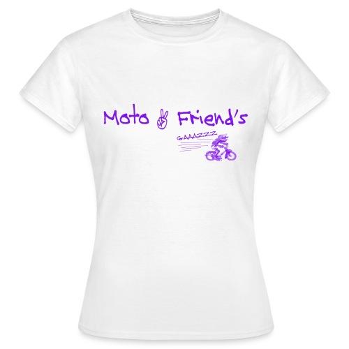 MotoSolexViolet - T-shirt Femme