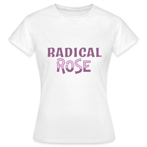RADICAL rose logo - Women's T-Shirt