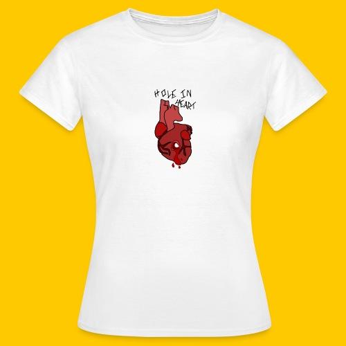 Hole.. Heart. - Women's T-Shirt