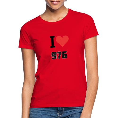 I LOVE MAYOTTE - T-shirt Femme