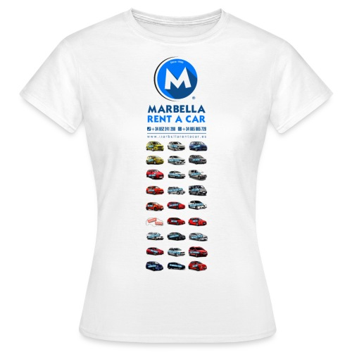 marbellarentacar.es - Women's T-Shirt