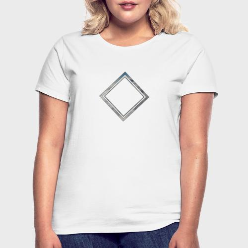 Cloud Square - Frauen T-Shirt