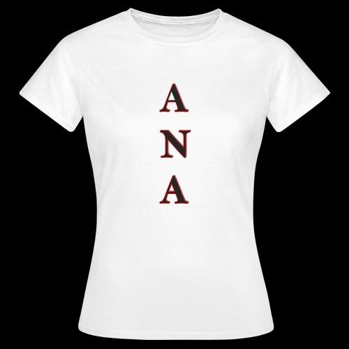 ANA - Camiseta mujer