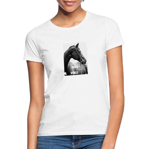 Sweet horse bonding shirt - Dame-T-shirt