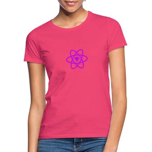 Sketch2React Purple Logo - Women's T-Shirt