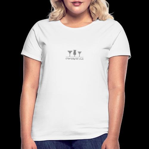 champagner club - Frauen T-Shirt