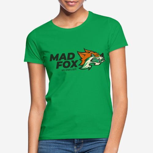 mad crazy fox - Frauen T-Shirt