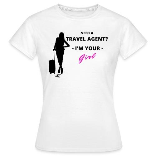 NEED A TRAVEL AGENT - Maglietta da donna