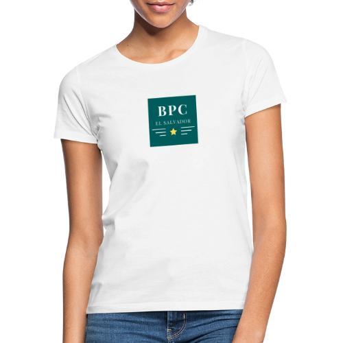 Dark Green Lines and Stars Political Logo - Camiseta mujer