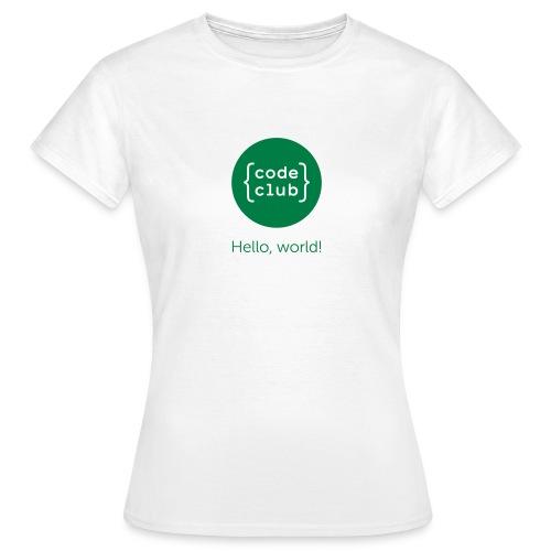 cchelloworld - Women's T-Shirt
