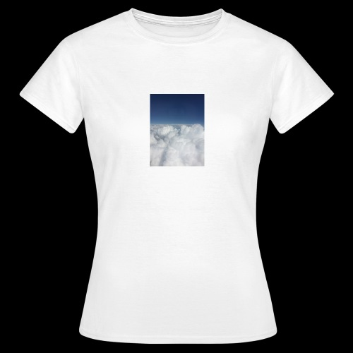 clouds - Vrouwen T-shirt
