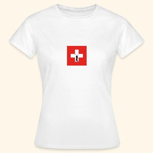 Kreuz Hornusser png - Frauen T-Shirt