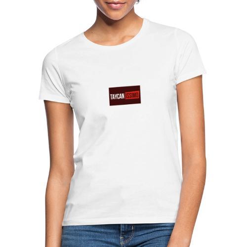 Taycanissimo logo v4 - Vrouwen T-shirt