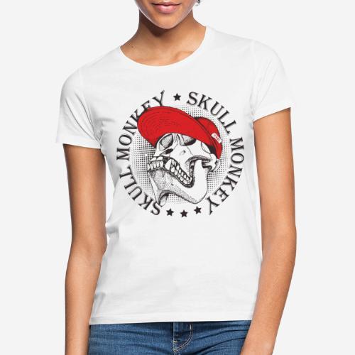 skull monkey vintage - Frauen T-Shirt