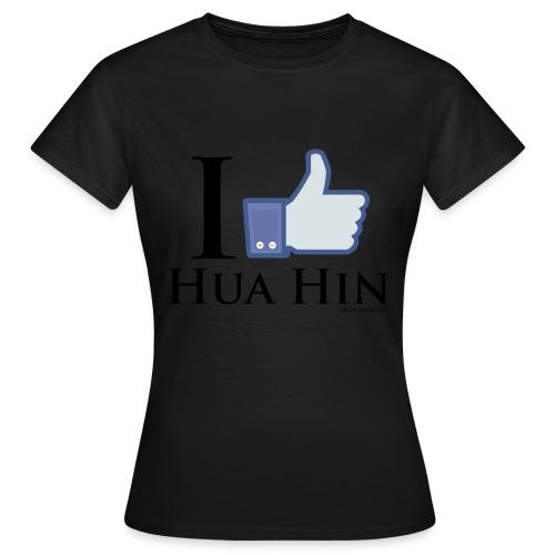 Like-Hua-Hin-Black - Frauen T-Shirt