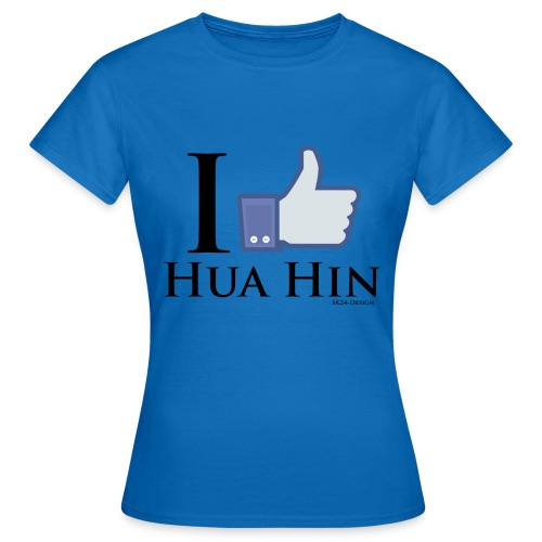 Like-Hua-Hin-Black - Frauen T-Shirt