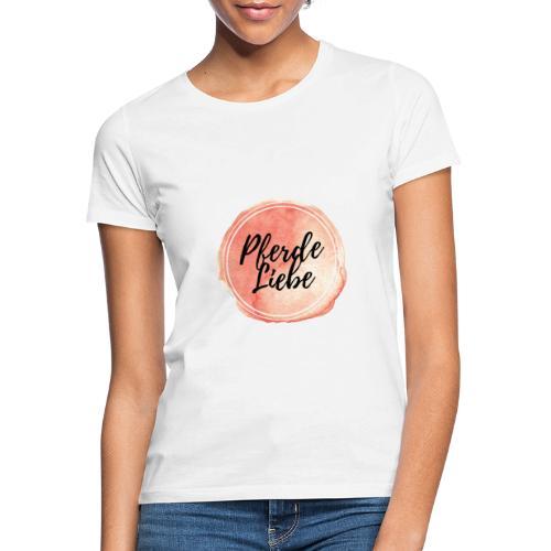 Pferde Liebe Logo - Frauen T-Shirt