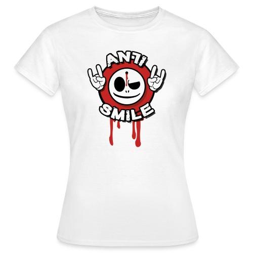 AntiSmile - BigFront - Frauen T-Shirt