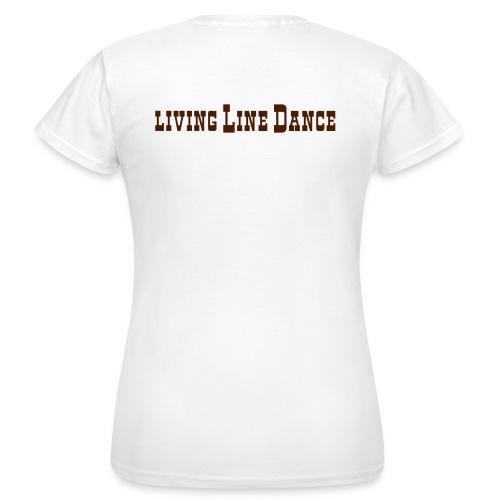 1 zeilig braun - Frauen T-Shirt